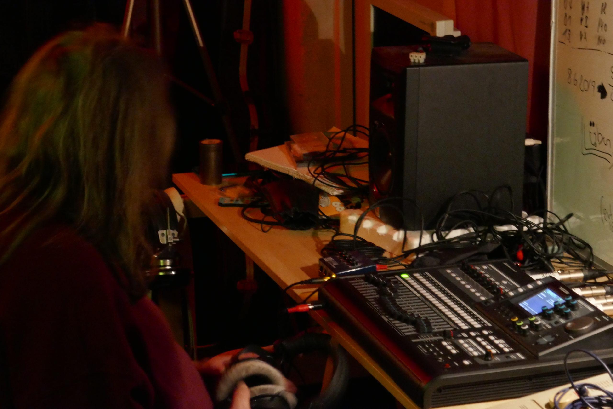 Recording-Session im Proberaum