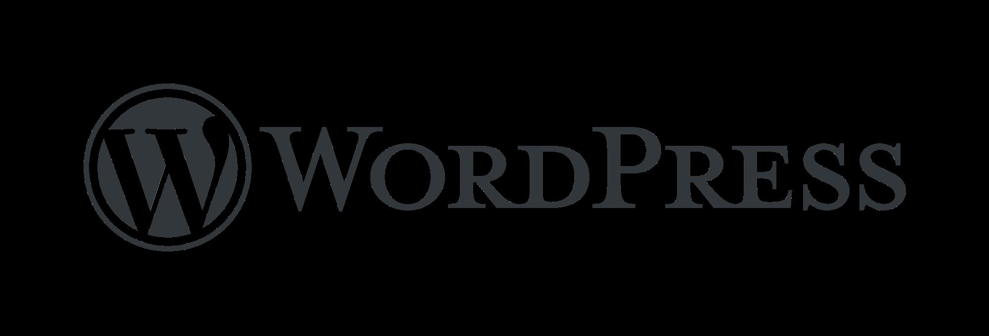 Wordpress Wortbildmarke